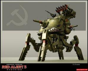 红色警报3起义时刻苏联新单位介绍:收割机甲