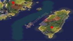 红色警戒2中日战争地图