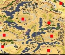 红色警戒2尤里的复仇伞兵战场地图