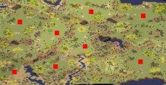 尤里的复仇非常裂谷8人地图
