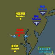 红警3美国东海岸战役地图
