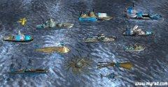 红色警戒2反恐联盟3D版海战单位大全