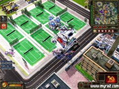 红警3地图战火下的花园城