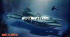 红色警戒3秘籍之潜艇穿陆