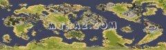 红色警戒2世界地图变态版
