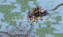 红色警戒2最强防守法国篇攻略视频