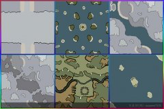 6张红色警戒3地图全集