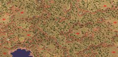 心灵终结3.3荒谷相争地图